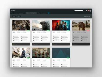 MPC Film - Web app for world's largest VFX company.