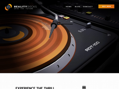 RealityDecks for Oculus Rift - Website & Branding