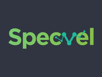 Logo Design for Gadgets specification portal - Specvel analitycs wordmark logo wordmark hashvel logodesign modern logo logo