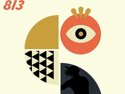 Poster 813 typography s vector type branding digital make something everyday illustration graphic poster design