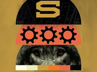 Poster 815 - 2 poster design art direction brand identity branding design type vector branding make something everyday illustration poster art color design