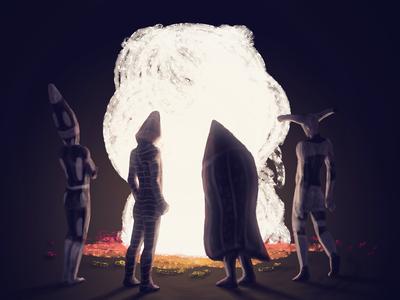 Selk'nam - Spirit fire