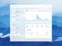 Windows Task Manager redesign