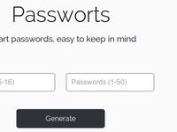 Passworts