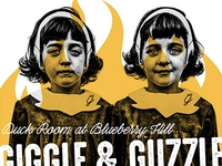Giggle & Guzzle Poster