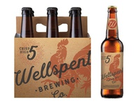 Wellspent Brewing Co. Packaging Concept