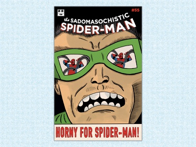 Spider-Man #55 Bootleg procreate comic cover comic book bootleg comic art doc ock spider-man illustration