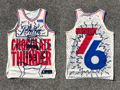 76ers Crossover Jersey