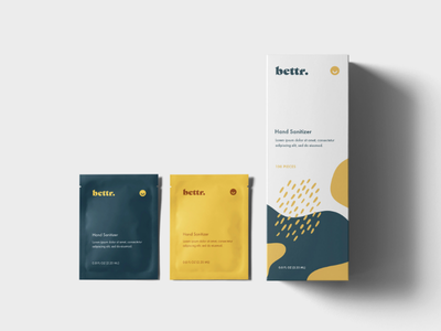 Bettr. Healthcare design packaging