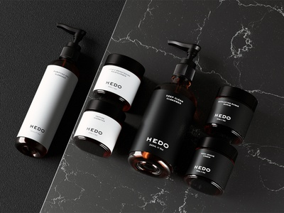 Hedo Skincare exploration minimalist user interface user experience uiux white minimalism design art graphic design minimal