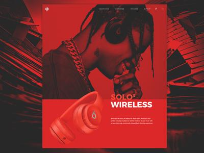 Beats Audio Website Redesign