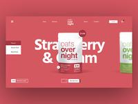 Oats Over Night Website Design