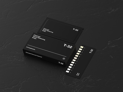 T-32 Teeth Whitening white design minimalistic product page graphic design minimal