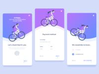 Onboarding - Bike app