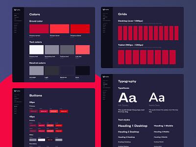 Mythos Design System typography ui guide figma components design system
