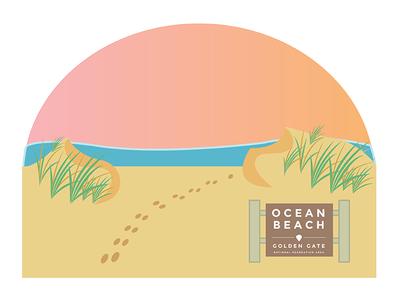 Ocean Beach gradient san francisco ocean beach