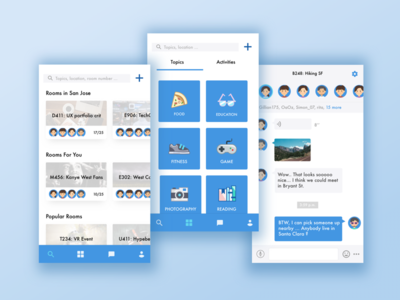 Groupchat Interface Design