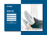 DailyUI - 001 - Sign Up