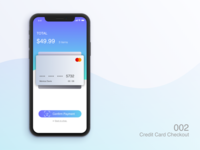 002 Credit Card Checkout