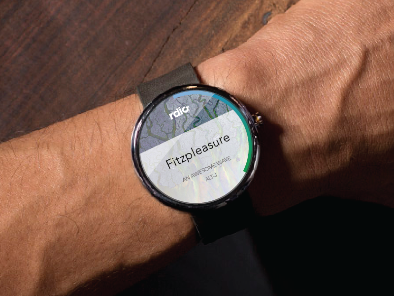 RDIO — for android wear android rdio wear watch altj