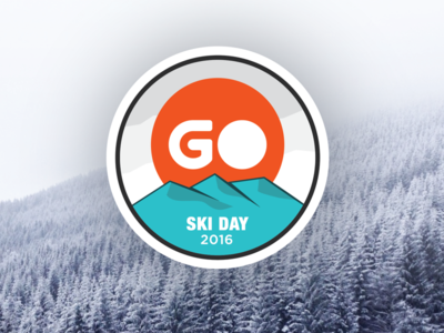 Go Ski Day Patch