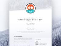 Go Ski Day — email
