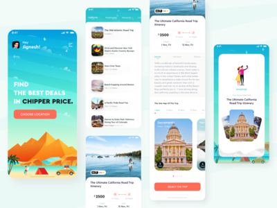 A traveling app to find best deals in chipper price.
