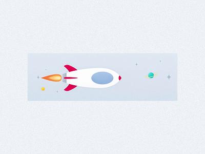 Order statues - Deliver fast deliver rocket chowbus branding flat illustration ui