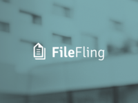 File Fling logo design