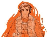Poe Dameron Illustration