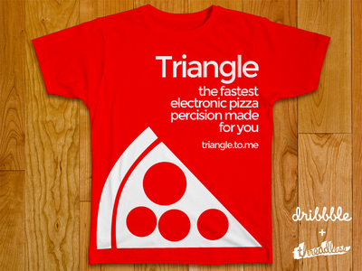 Triangle: The fastest electronic pizza