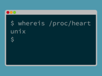 Unix Is Where The Heart Is
