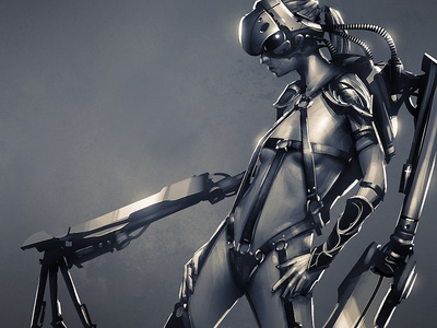 Cyborg Hottie