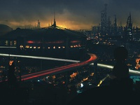 Post Apocalyptic Skyline