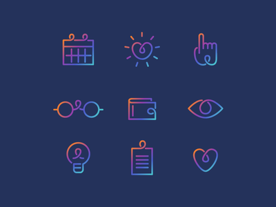 Education Web Icons