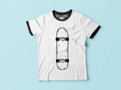"""Illustration for """"La La Lumpie"""" T shirt"""