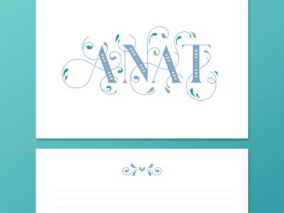 Anat | Greeting Card