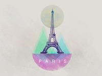 Colauncher Eiffel Tower Sticker Concept