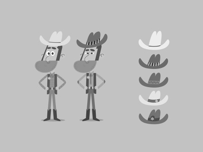 Cowboy Joe adobephotoshop wacom western cowboy illustrator childrens book art humor digital art design character design vector illustration