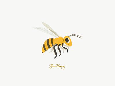 ... bee happy! childrens book cutebee cute animal cute art art digital art design character design vector illustration bees bee