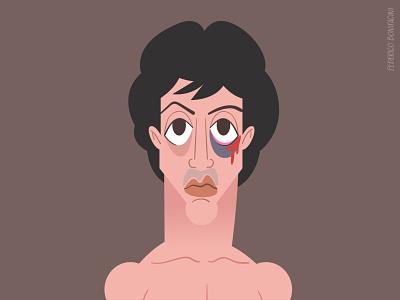 Rocky III (1982) - Sylvester Stallone netflix retro movies fanart fight boxer sylvesterstallone illustration characterdesign rockybalboa rocky