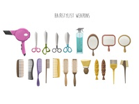 Hairstylist Weapons