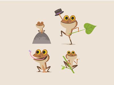 Frog design illustrator art animalillustration animal character animation character sketch adobeillustrator illustrator design art digital art humor vector childrens book frogs characterdesign illustration frog
