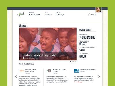 eGood.com ux graphic design ui