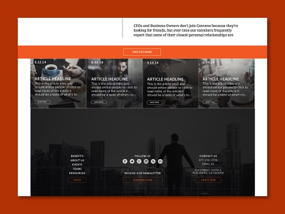 Convene creative direction branding graphic design ui