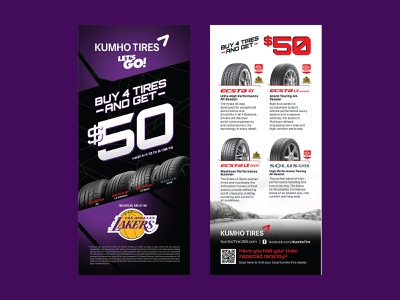 Kuhmo Lakers Brand Activation graphic design