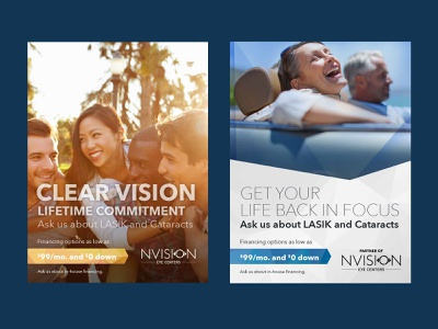 NVision Eye Care Centers graphic design