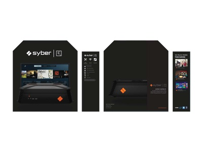 Syber Gaming C Series Packaging brand strategy packaging design graphic design