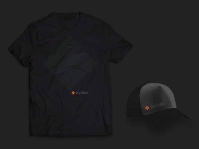 Syber Gaming CES Swag graphic design