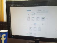 BigParser User Flow Wireframe - My Data & Search Spreadsheet UI